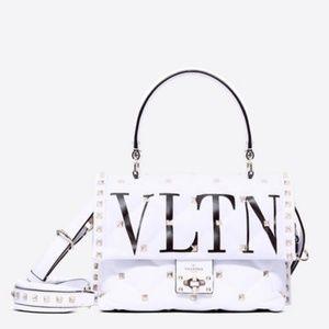 Valentino Garavani VLTN Candystud Spike Tote Bag